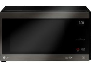 LG 1200 Watts Black Stainless Steel Series 1.5 cu. ft. NeoChef Countertop Microwave with Smart Inverter and EasyClean LMC1575BD Sensor Cook Black Stainless Steel
