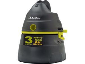 Koblenz WD353 3-Gallon Wet/Dry Vacuum 1.75HP Graphite, Gray