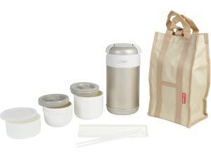 Tiger LWR-A092 Thermal Lunch Box, Champagne Gold Made in Japan