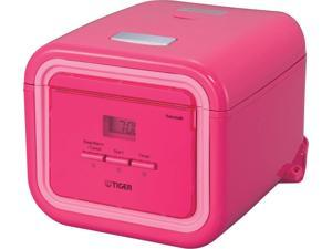 Tiger JAJ-A55U-PP Microcomputer Controlled Rice Cooker / Warmer, Pink