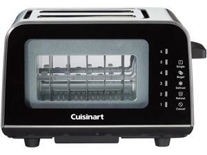 Cuisinart CPT-3000C ViewPro 2-Slice Glass Toaster