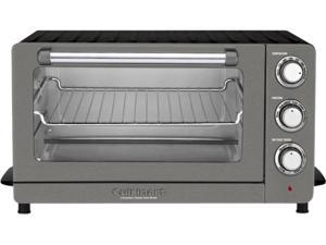 Cuisinart TOB-60N1BKS2 Stainless Toaster Oven Broiler with Convection, Black