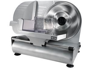 """WestonSupply 61-0901-W Stainless steel 9"""" Meat Slicer (CE and GS Approved)"""