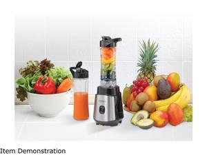 Rosewill Personal Blender, 300W Portable Single Serve Blender for Smoothies, Juices, Shakes, Includes 2 x 20 oz. Travel Bottles - RHBL-18002