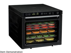 Rosewill Food Dehydrator Machine, 6-Tray Dehydrating Racks, Electric Dehydrator 2 Speeds Settings and Dual Fans for Fast Drying Fruit, Meat, Jerky - RHFD-18001