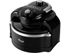 Rosewill Air Fryer 7.4-Quart (7 Liter) Oil-Less Low Fat Multicooker with Temperature and Timer Settings, 1000W Infrared Technology, Includes Frying Basket and Accessories - RHCO-19001