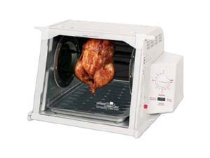 Ronco White Showtime Compact Rotisserie and Barbeque Oven ST3001WHGEN