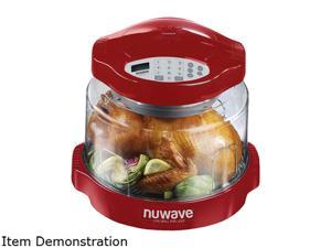 NuWave Red 0.2 cubic feet Oven Pro Plus, Red 20634