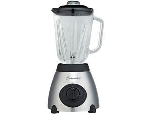 Continental Electric CP42148 5-Speed Blender (6-Cup), Powerful 500W Motor, Glass Jar, Metallic Stainless Steel