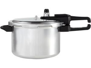 Continental Electric CE-PR101 4 Quart Aluminum Pressure Cooker with Safety Lid