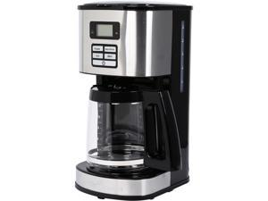 Hamilton Beach 49618 Digital 12-Cup Programmable Coffee Maker Coned Basket LCD