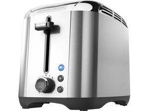 Black & Decker TR3500SD Silver 2-Slice Toaster