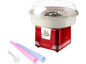 Nostalgia Electrics  PCM405RETRORED  Red  Retro Series Hard & Sugar Free Candy Cotton Candy Maker