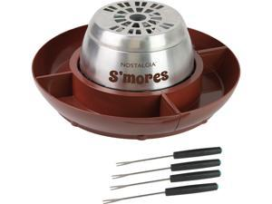 Nostalgia Electrics LSM400 Electric Stainless Steel S'mores Maker