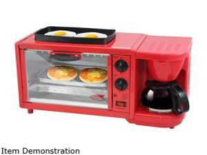 Maxi-Matic EBK-300R Red Deluxe Breakfast Station