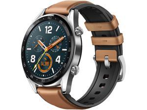 "Huawei Watch GT Classic - GPS Smartwatch with 1.39"" AMOLED Touchscreen, 2-Week Battery Life, 24/7 Continuous Heart Rate Monitor, Outdoor and Indoor Sports, 5ATM Waterproof 55023263"
