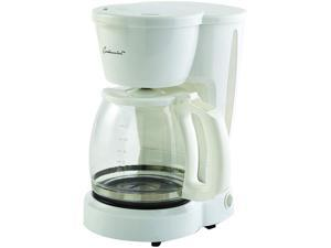 Continental Electric 12-Cup Coffee Maker, White CE-CM291