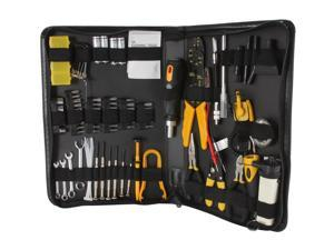 Syba SY-ACC65053 100 Piece Computer Technician Tool Kit for Repairing, Wiring, Cleaning, and Testing