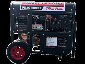Powerland Pd3g10000e 10kw 16hp Triple Fuel Gaslpgnatural Gas Generator Electric