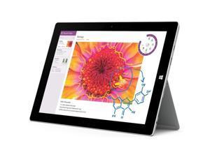 "Microsoft Surface Pro 3 Intel Core i5 4300U (1.90 GHz) 4 GB Memory 128 GB SSD 12.0"" 2160 x 1440 Tablet Windows 10 Pro Silver"