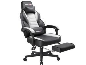 BOSSIN Racing Style Gaming Chair Computer Desk Chair With Footrest And  Headrest, Ergonomic Design,