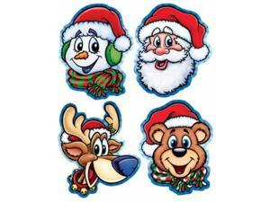 Beistle - 22111 - Pkgd Christmas Companion Cutouts- Pack of 12