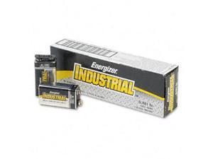 ENERGIZER Industrial EN22 EVEEN22 9V Alkaline Battery, 12-pack