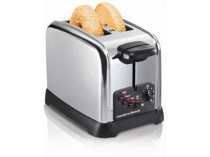 Hamilton Beach 22790 Classic Chrome 2 Slice Toaster