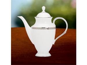 Lenox 6046338 Tuxedo Coffeepot with Lid