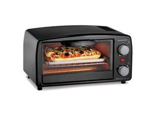 Proctor Silex 31118R Toaster Oven Broiler, Black