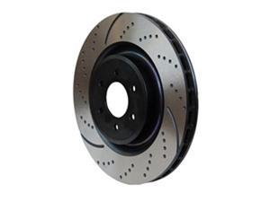 EBC Brakes GD7014 3GD Series Dimpled and Slotted Sport Rotor