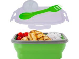 Smart Planet OCC8DR Green Eco Collapsible Meal Kit 1 Inner