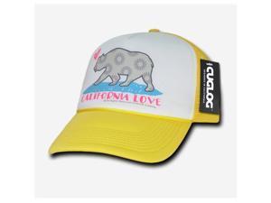 f4fad074c58 Decky C24-YEL Cali Love Foam Trucker Hat ...