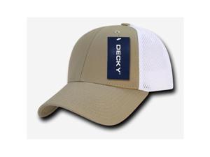 28565a53c81 Decky 204-KHAWHT Low Crown Air Mesh Baseball Cap - Khaki