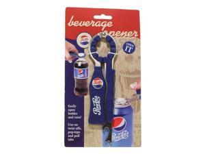 Jokari 18004P1 Pepsi Heritage Logo 3-in-1 Beverage Opener