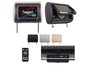POWER ACOUSTIK H-71CC 7-Inch Universal Replacement Headrest Epsilon Electronics Inc.