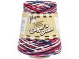 Spinrite 103002-2110 Sugar n Cream Yarn, Nautical - Cones