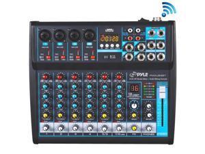 Pyle PMXU83BT 8 Channel Bluetooth Studio Mixer