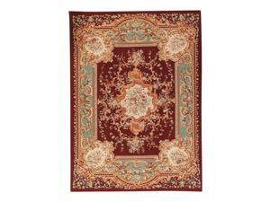 Pasargad Carpets 269-B 12X17 12 ft. 2 in. x 17 ft. 1 in. Aubusson Hand-Woven New Zealand Wool Area Rug, Black
