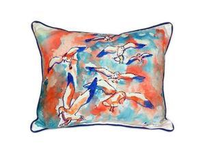 Betsy Drake HJ153 Gulls Flocking Indoor U0026 Outdoor ...
