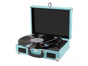 Craig CD698TE 3-In-1 Craig Ccdte Stereo Suitcase Turntable System