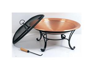 Unique Arts M88791 29 in Copper Hammered Fire Pit