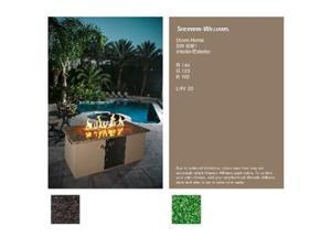 Pits By Design NG-TB-6081-EG Tan Brown Down Home Electric Green Natural Gas Fireplace