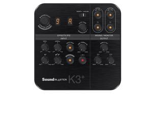 Creative Labs 70SB172000001 Sound Blaster K3 Plus Audio Interface Mixer
