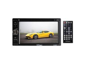 Nippon KD6201D Audiodrift 6.2 in. Indash DVD, CD & MP4 Player with USB, SD, MMC, AM, Fm & Remote