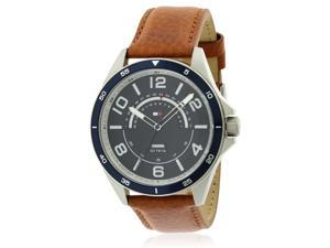 2d55dd6f3 Tommy Hilfiger Sport Leather Mens Watch 1791391