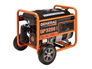 Generac GP Series 3250 3750W Gas-Powered Portable Generator