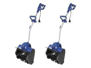 Snow Joe 11-Inch 10-Amp Motor Electric Snow Shovel with Headlights (2 Pack)