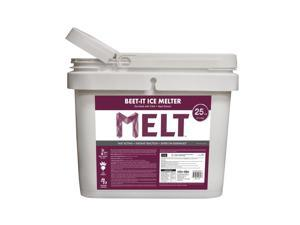 Snow Joe Beet-It Ice Melter with CMA and Beet Extract 25 Pound Bucket
