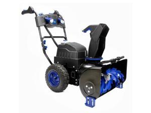 Snow Joe ION8024-CT Cordless Two Stage Snow Blower | 24-Inch | 80 Volt | 4-Speed | Headlights | Core Tool Only